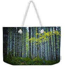 In The Woods Weekender Tote Bag by Belinda Greb