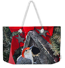 Weekender Tote Bag featuring the photograph In Time For Christmas by Nava Thompson