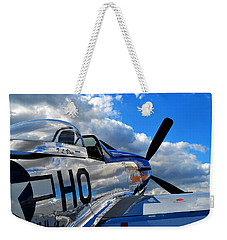 In To The Wild Blue Weekender Tote Bag