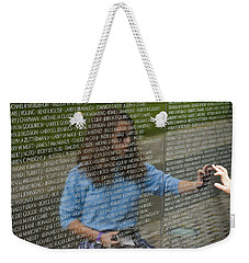 In Touch With The Past Weekender Tote Bag