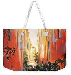 In Town Of Saint Tropez Weekender Tote Bag