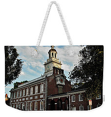 Independence Hall Weekender Tote Bag by Ed Sweeney