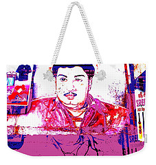 India Dress Maker Billboard  Weekender Tote Bag