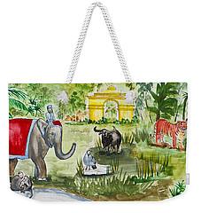 India Friends Weekender Tote Bag