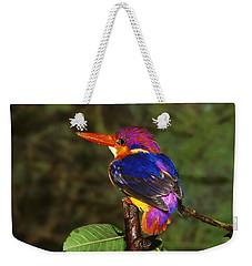 India Three Toed Kingfisher Weekender Tote Bag