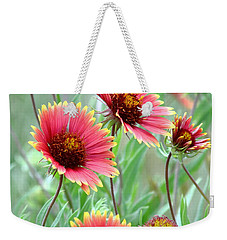 Indian Blanket Wildflowers Weekender Tote Bag