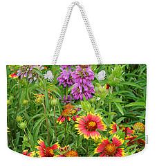 Indian Blankets And Lemon Horsemint Weekender Tote Bag