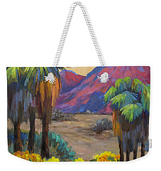 Indian Canyon In Spring Weekender Tote Bag