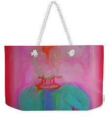 Indian Elephant Weekender Tote Bag