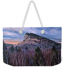 Indian Head In Lincoln New Hampshire Weekender Tote Bag