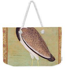 Indian Lapwing Weekender Tote Bag