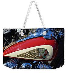 Indian Motorcycle Gas Tank Weekender Tote Bag