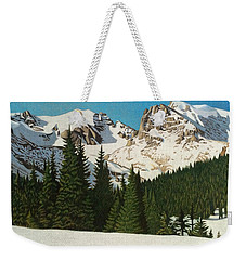 Indian Peaks Winter Weekender Tote Bag