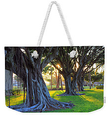 Indian Sunset Weekender Tote Bag