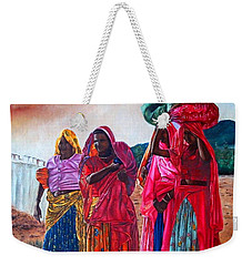 Indian Women Weekender Tote Bag