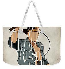Indiana Jones - Harrison Ford Weekender Tote Bag
