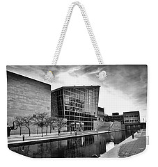 Indiana State Museum Weekender Tote Bag by David Haskett