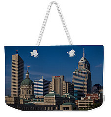 Indianapolis Skyscrapers Weekender Tote Bag