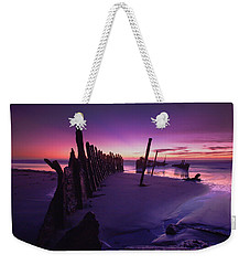 Indigo Dawn Weekender Tote Bag