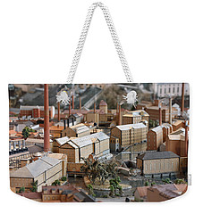Industrial Town Miniature Model Weekender Tote Bag