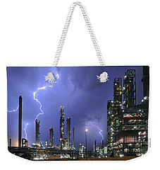 Lightning Weekender Tote Bag by Arterra Picture Library