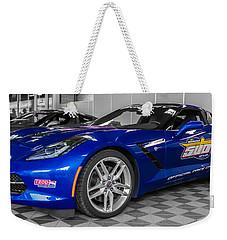 Indy 500 Corvette Pace Car Weekender Tote Bag