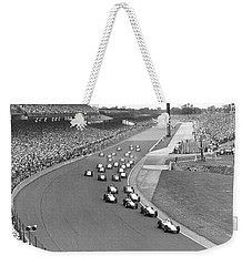 Indy 500 Race Start Weekender Tote Bag