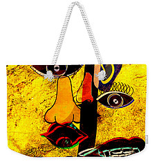 Infected Picasso Weekender Tote Bag by Ally  White