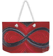 Infinite Love By Jrr Weekender Tote Bag