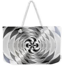Weekender Tote Bag featuring the drawing Infinity Bonded by Derek Gedney