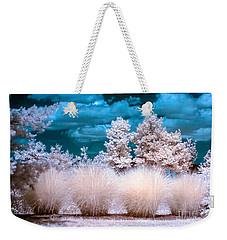 Infrared Bushes Weekender Tote Bag
