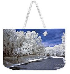 Infrared Road Weekender Tote Bag