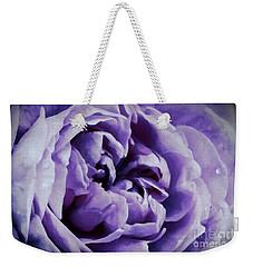 Lavender Motive Weekender Tote Bag