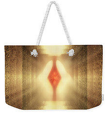 Weekender Tote Bag featuring the photograph Inner Phase by Kellice Swaggerty