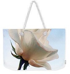 Weekender Tote Bag featuring the photograph Innocence by Deb Halloran