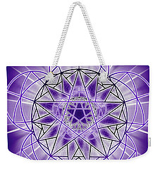 In'phi'nity Star-map Weekender Tote Bag