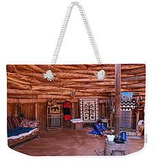 Inside A Navajo Home Weekender Tote Bag