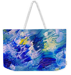 Inside A Wave Weekender Tote Bag
