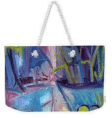 Inside And Outside Abstract Expressionism Weekender Tote Bag