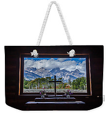 Inside Looking Out Weekender Tote Bag