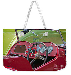Red Mg-td Convertible  Weekender Tote Bag