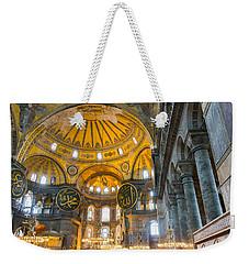 Inside The Hagia Sophia Istanbul Weekender Tote Bag
