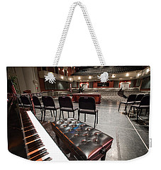 Weekender Tote Bag featuring the photograph Inside Theater by Alex Grichenko