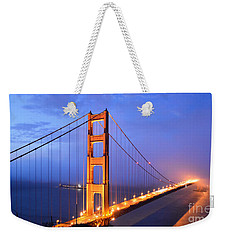 The Golden Gate Bridge Weekender Tote Bag