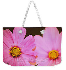 Inspirational Flower 2 Weekender Tote Bag