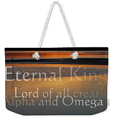 Weekender Tote Bag featuring the photograph Inspirational Sunset by Jocelyn Friis