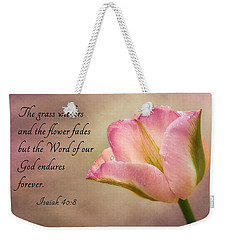 Inspirational Tulip Weekender Tote Bag