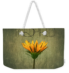 Inspired Weekender Tote Bag