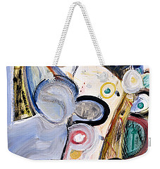 Intellect Weekender Tote Bag