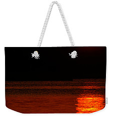 Intense Sunset Weekender Tote Bag